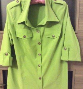 Рубашка на 52-54 размер