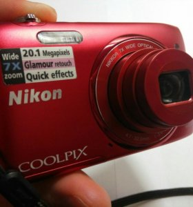 Фотоаппарат Nikon S3400