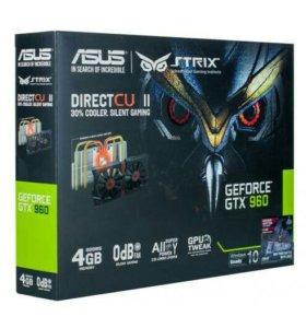 Видеокарта Asus GTX960 4Gb (strix-GTX960-DC2-4GD5