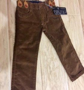 Новые детские вельветовые штаны