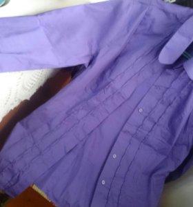 Рубашка новая 48 р.