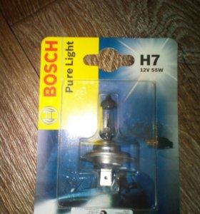 Лампа Bosch h7