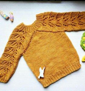 Пуловер на 2 года.
