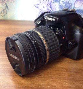 Canon 1100D Зеркалка с объективом 17-50 f2.8