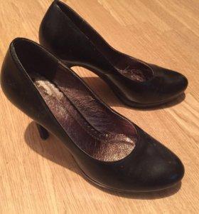Туфли , натуральная кожа