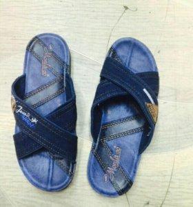 Шлепки обувь мужская