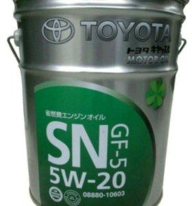Масло моторное Toyota SN 5W-20, розлив с бочки