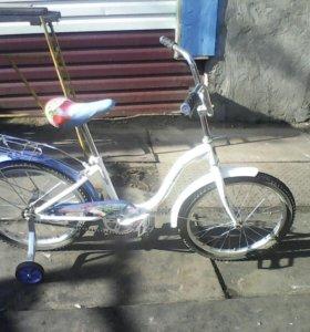 Подростковый велосипед в очень хорошем состоянии