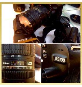 Nikon d5100 + 18-200mm объектив