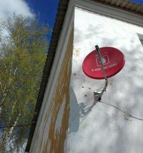 Комплект спутниковой тарелки МТС