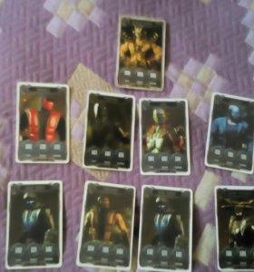 Карточки Mortal Combat там есть шау кан