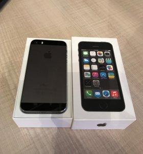 iPhone 5s. Оригинал. Состояние нового телефона .
