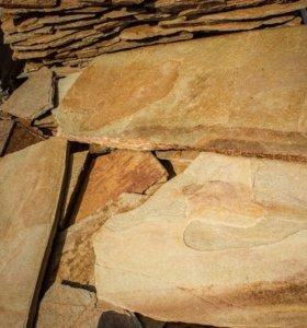 Златолит Уральский (плитняк) толщина 1,5-2 см