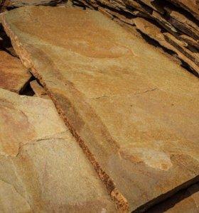 Златолит Уральский (плитняк) 3-6 см