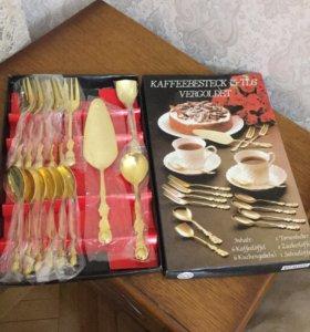 Подарочный набор для десерта новый в упаковке