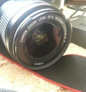 Фотоаппарат Canon eos 1100d ef-s 18-55 is II kit