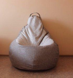 Кресло из рогожки