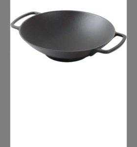 Чугунная сковорода. Новая. Korting K 1128