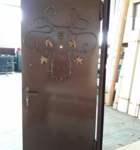 Дверь металл