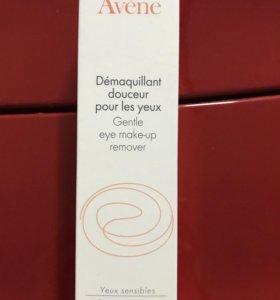 Мягкий лосьон для снятия макияжа глаз Авен