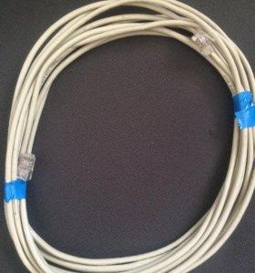 Патчкорд UTP-5E, длина по заказу клиента 50₽-1метр