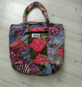 Пляжная сумка с о.бали