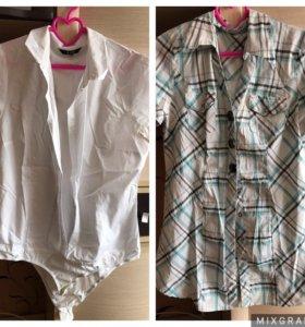 Боди и рубашка