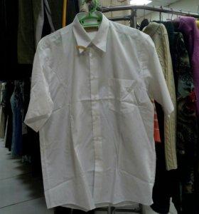 Мужские рубашки с коротким рукавом в ассортименте