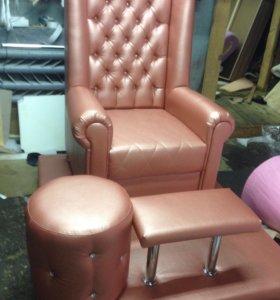 Педикюрное кресло для салонов красоты