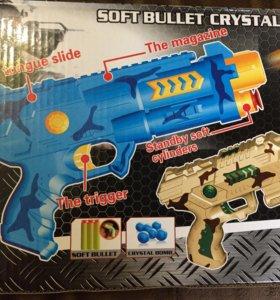 Пистолет с гелевыми пульками бластер