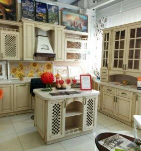 Шикарный кухонный гарнитур
