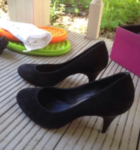 Туфли Buffalo London замшевые