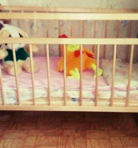 Кроватка детская. Срочно!!!