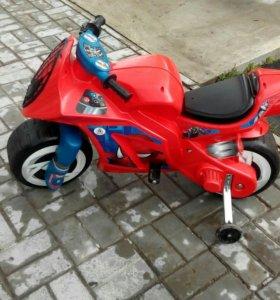 Электромотоцикл, возраст 3-5