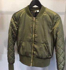 Куртка бомбер hm