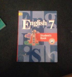 Учебник по английскому языку за 7 класс