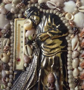 ключница из испании Коста Браво, из ракушек