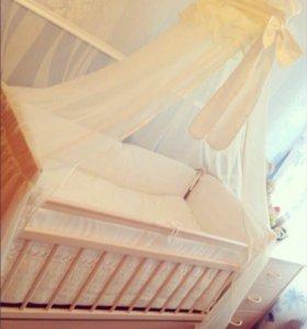 Детская-кроватка