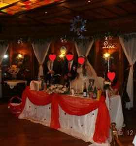 Свадебный президмум