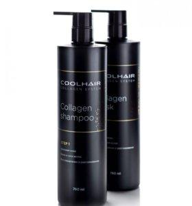 Spa набор для коллагенового обёртывания волос