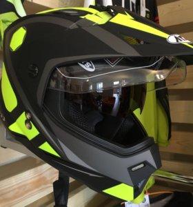 Шлем мотард Ataki размер L