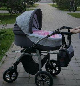 Деткая коляска 2 в 1
