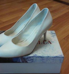 Свадебные туфли 38 р-р
