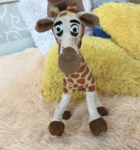 Игрушка жираф из Мадагаскара