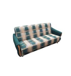 """Диван-кровать """"Уют"""" зеленый"""