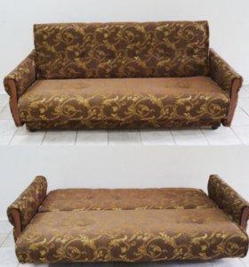 """Диван-кровать """"Гобелен"""" коричневый"""