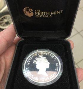 Монета 1$