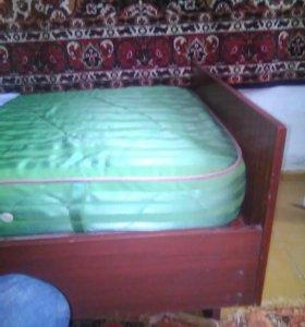 Кровати полуторки 100*190см