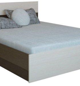 Кровать Юнина +матрас ортопедический комплект.