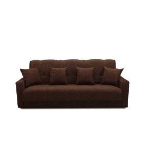 """Диван-кровать """"Комфорт"""" темно-коричневый"""